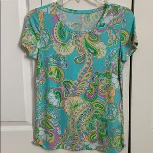 Lilly Pulitzer stretchy tee